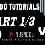 #1 Nuendo Tutorials - Cài đặt và các thiết lập ban đầu - Trường Leo