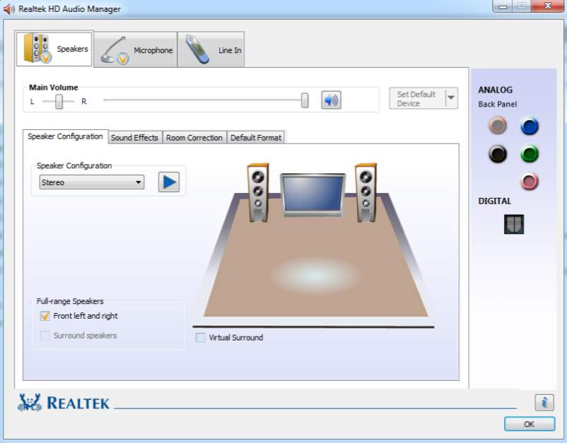 Download Realtek High Definition Codec for Win XP