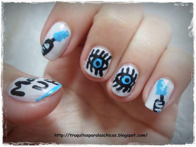 Manicura Make Up para uñas cortas