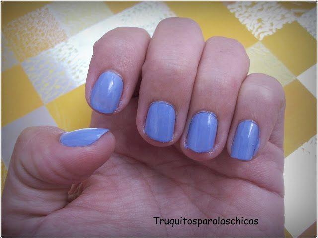 manicura lila
