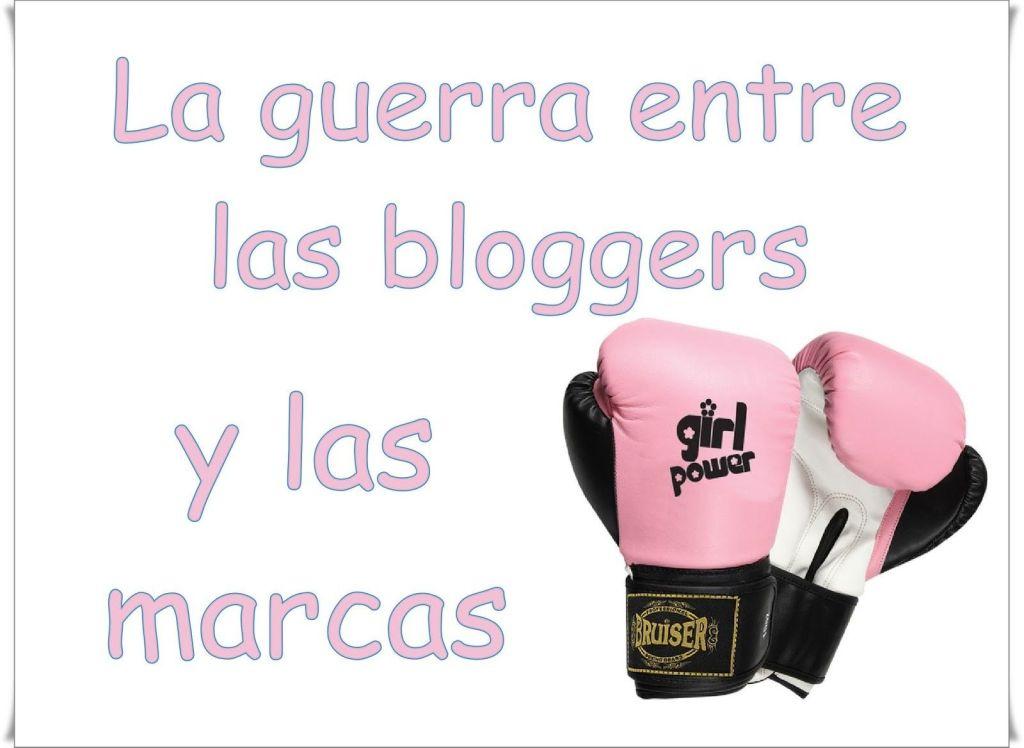 guerra bloggers y marcas