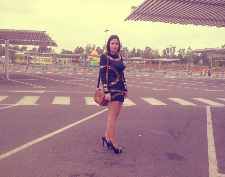 outfit con vestido de beyonce