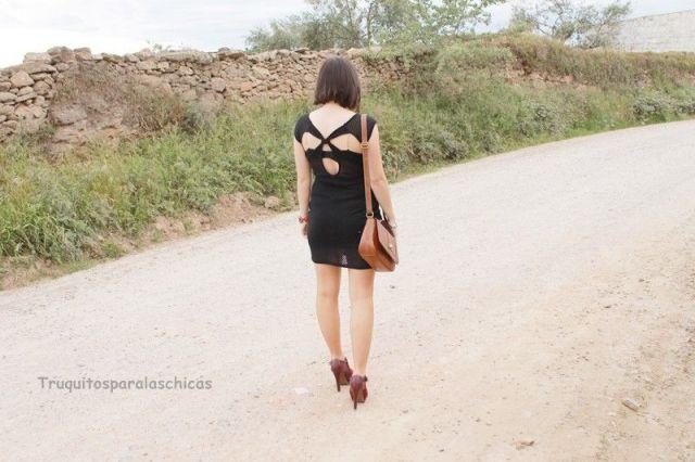 como lucir vestidos backless