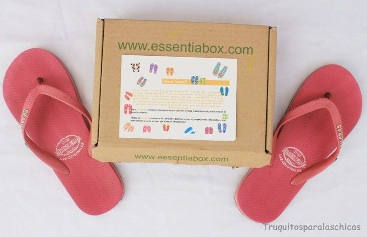 caja mensual Essentia box