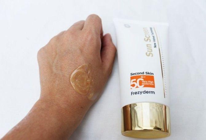 protector solar 50 velvet frezyderm