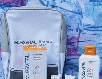 cremas solares de Mussvital