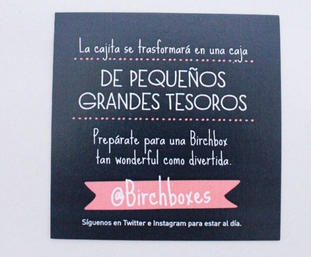 birchbox wonderful