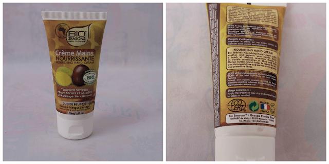 crema de karite y mango reparadora Bio Seasons