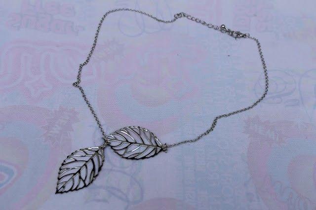 colgante hojas aliexpress