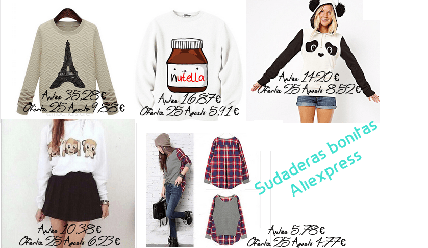 sudadera aliexpress