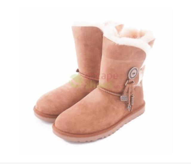 botas ugg marrón