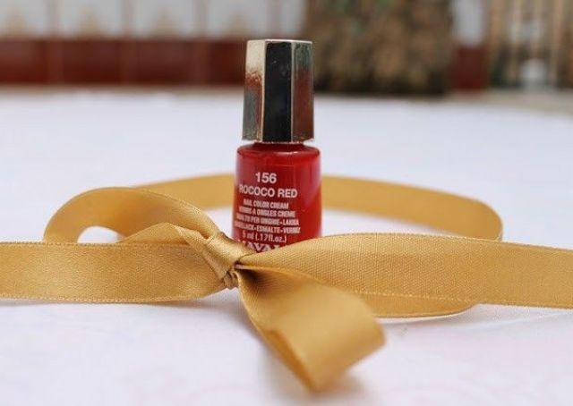 esmaltes de mavala rococo red