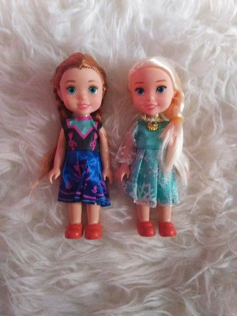 muñecas elsa y ana aliexpress