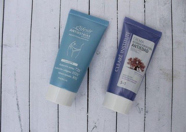 Crema acondicionadora antiedad del cabello y antiestrias e'lifesir