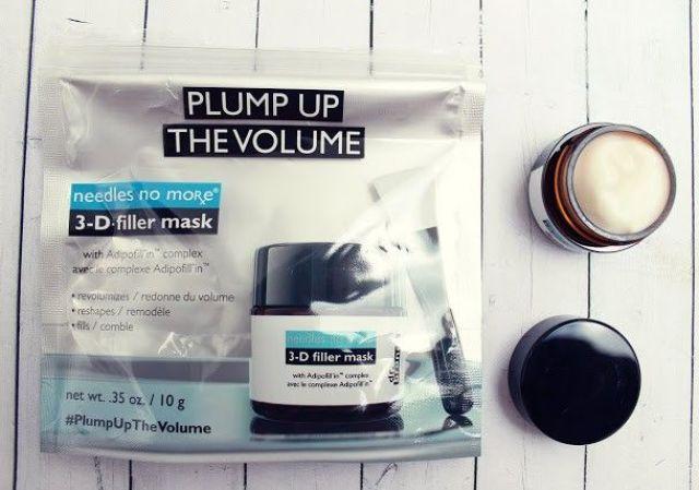 Needles no more 3-D filler mask