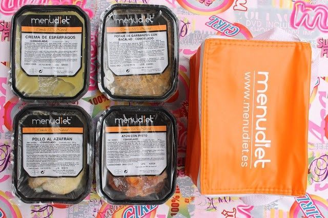 Comida sana con Menudiet