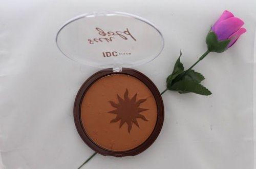 polvos bronceadores de IDC color