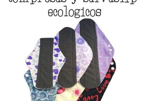 compresas y salvaslip ecológico