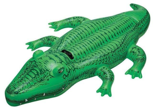 Flotador cocodrilo