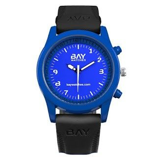 reloj colores azul y negro