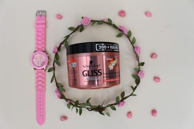 productos de Gliss y Diadermine