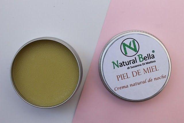 Crema natural de noche Piel de miel natural bella