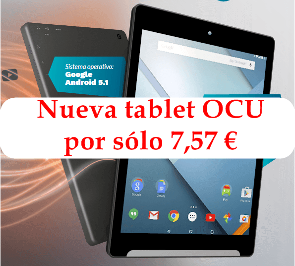 tablet de la Ocu