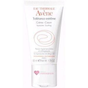 Crema hidratante tolerance facial de avene