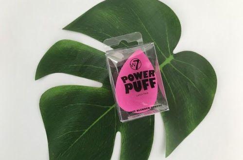 esponja Power Puff de W7