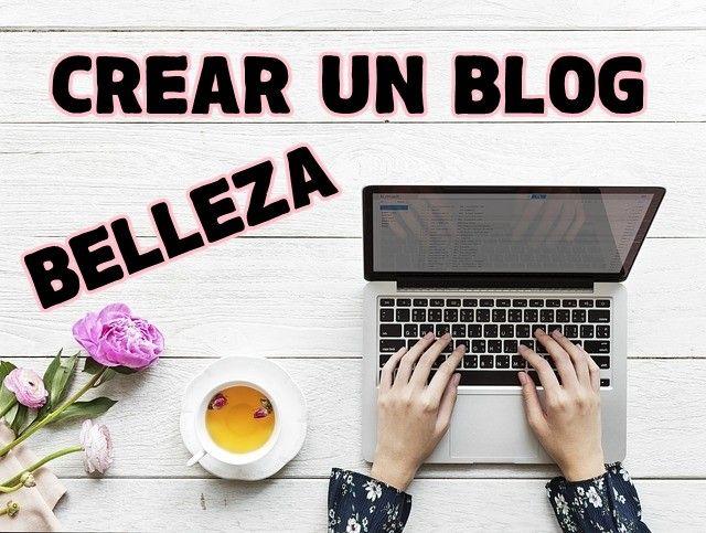 crear blog de belleza