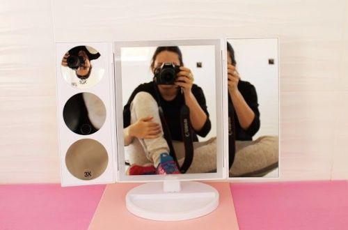 espejo de maquillaje barato