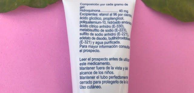 Opinión Licoforte gel para eliminar manchas