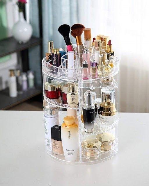 organizador maquillaje