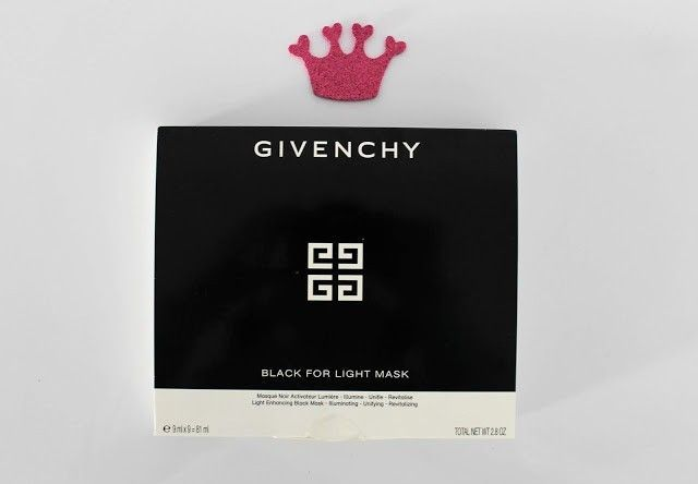 Opinión Givenchy Black For Light Mask