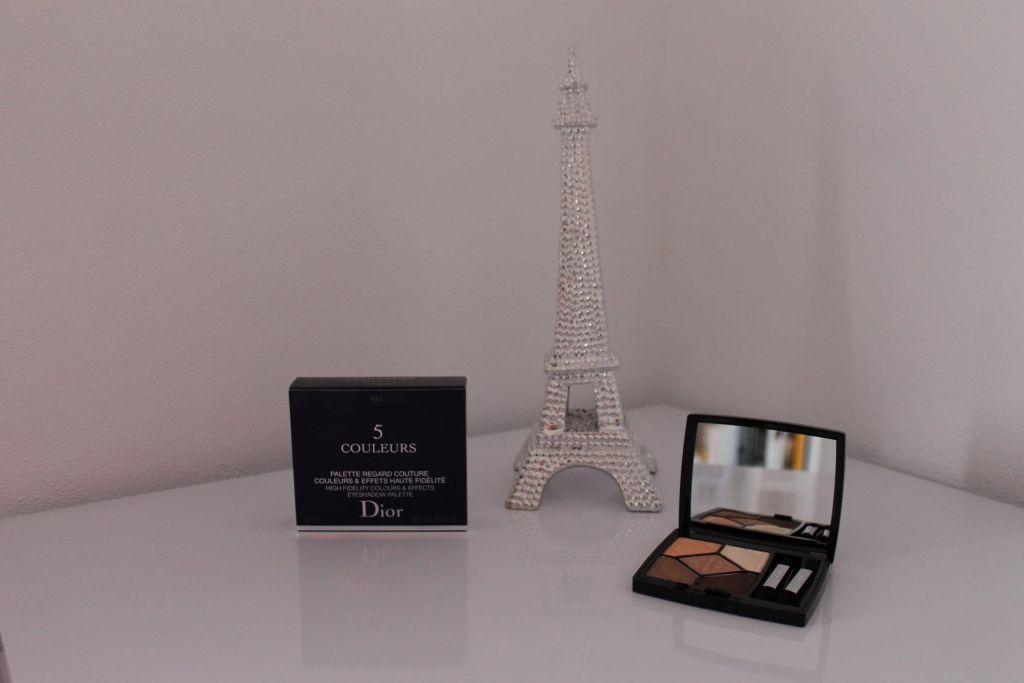 paleta de 5 colores de Dior