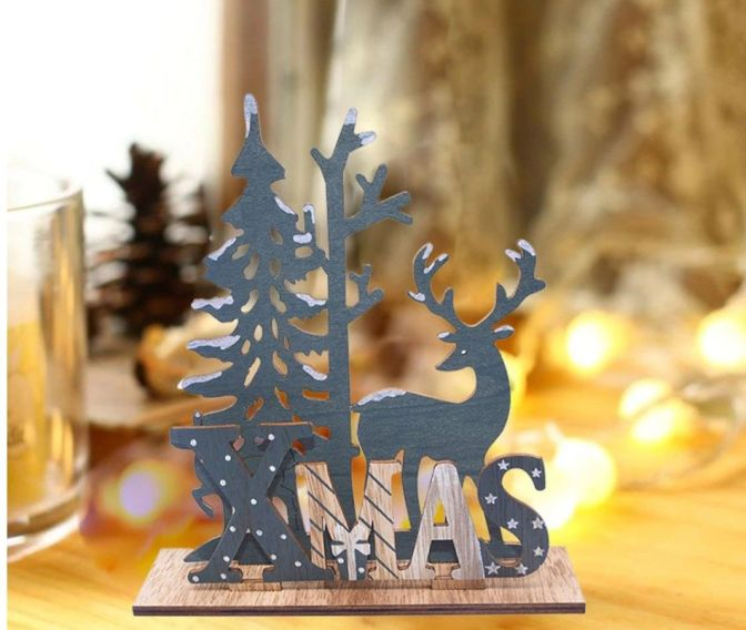 figura ciervo navidad