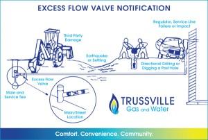 Excess Flow Valve (EFV) | Trussville Gas and Water