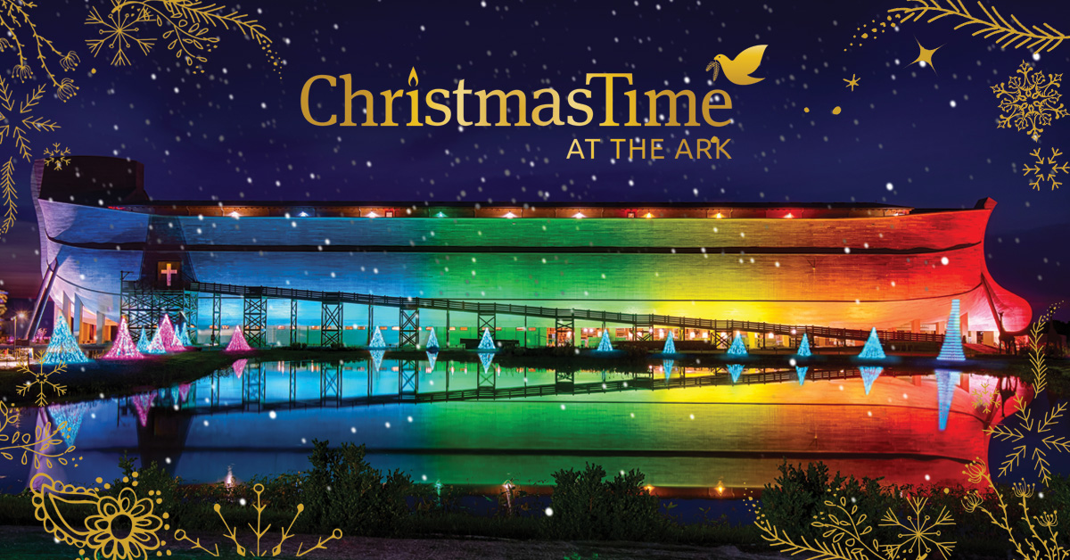 ChristmasTime At The Ark Encounter Trust Blue Review