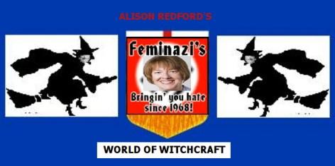ALBERTA FLAG UNDER REDFORD'S WITCHCRAFT