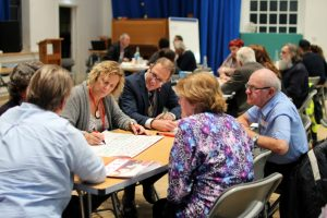 Trustees in workshop at the TDC AGM