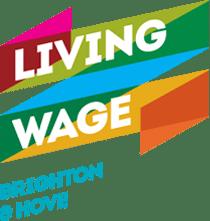Living Wage Brighton & Hove logo