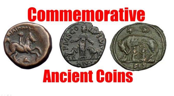 Interesting Commemorative Ancient Greek & Roman Coins