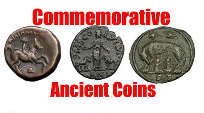 Interesting Commemorative Ancient Greek & Roman Coins