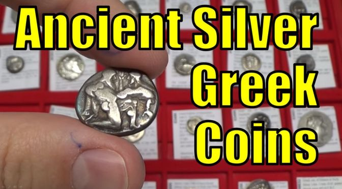 Silver Greek Coins Collection