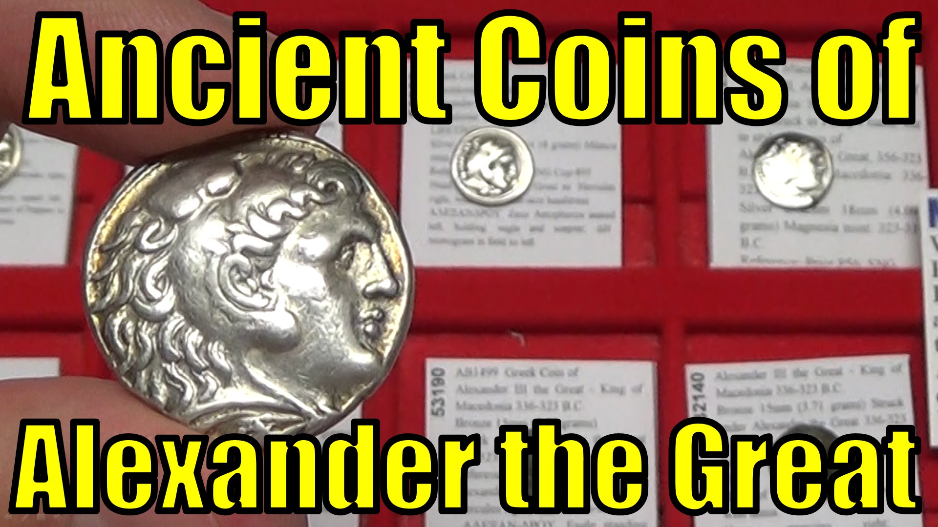 Coins: Ancient Collection Here Alexander The Great Rare Lifetime Tetradrachm Ancient Greek Silver Coin Herakles