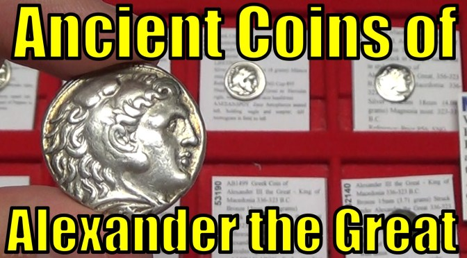 ALEXANDER the GREAT Ancient Greek Gold Silver Bronze COINS Collecting Guide & Collection