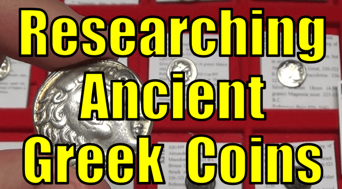 How to Research Ancient Greek Gold Silver Bronze Coins