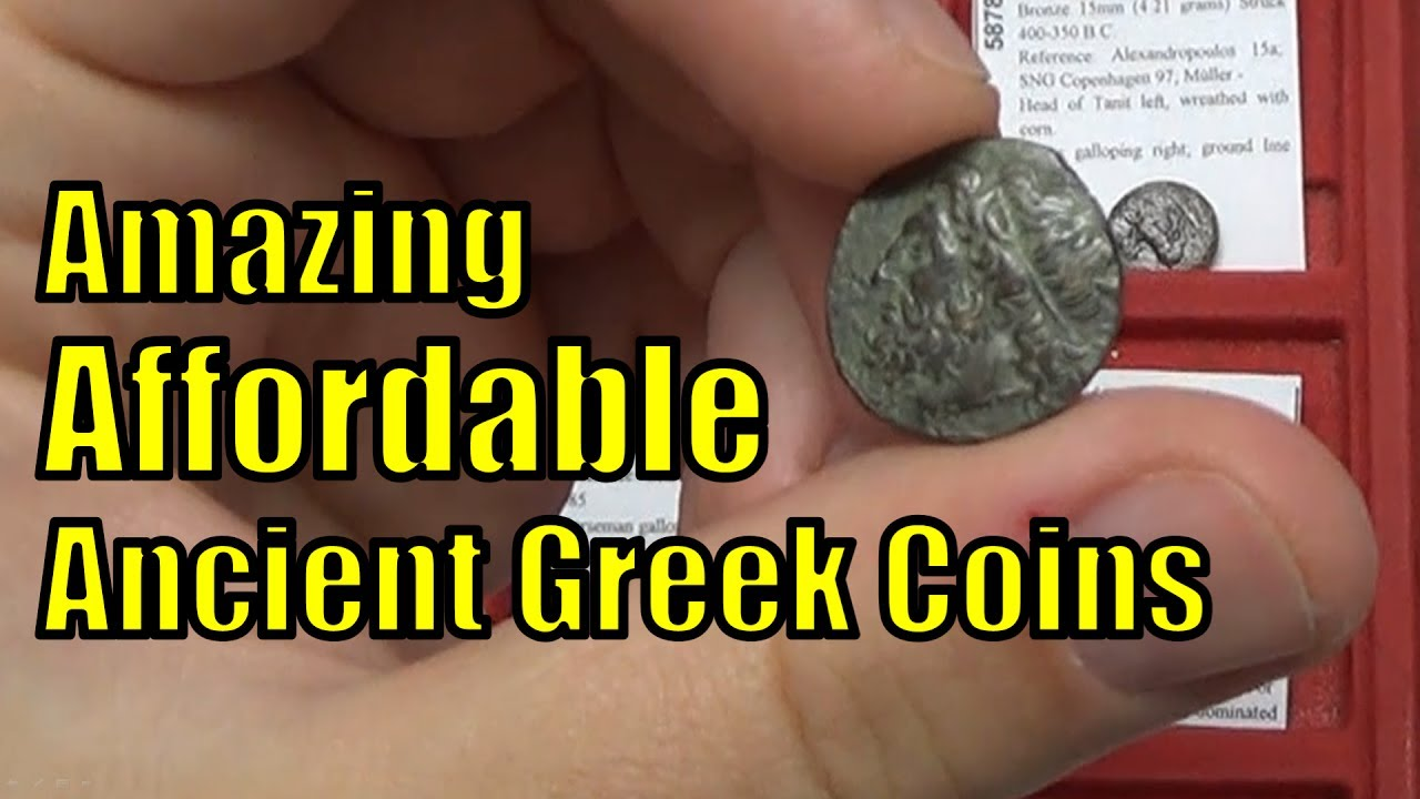 Affordable GREEK COINS circa 400BC-200AD for SALE on eBay Cheap