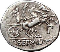 Biga Ancient Roman Chariot Coin