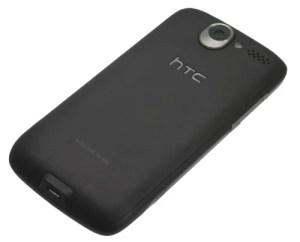 HTC Desire back angle